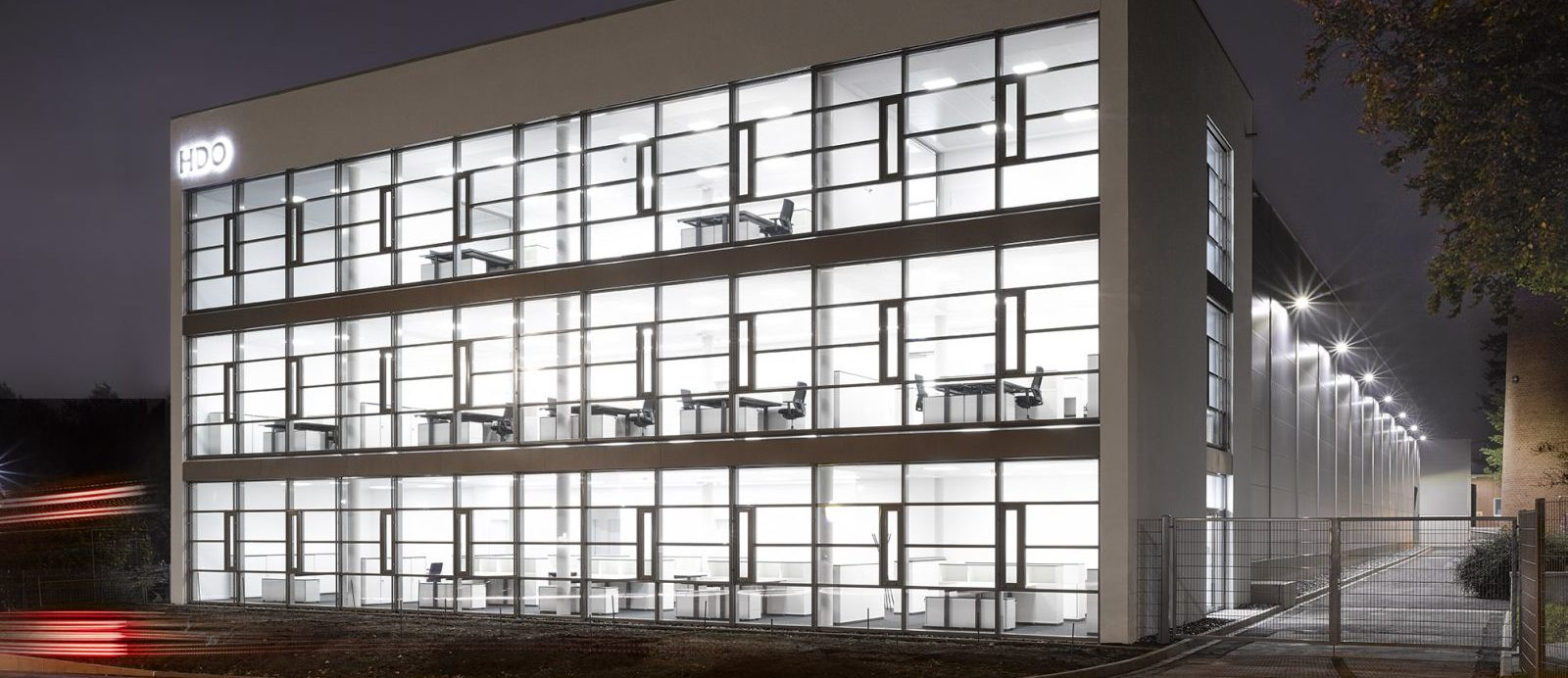 Neues HDO Bürogebäude am Standort Paderborn