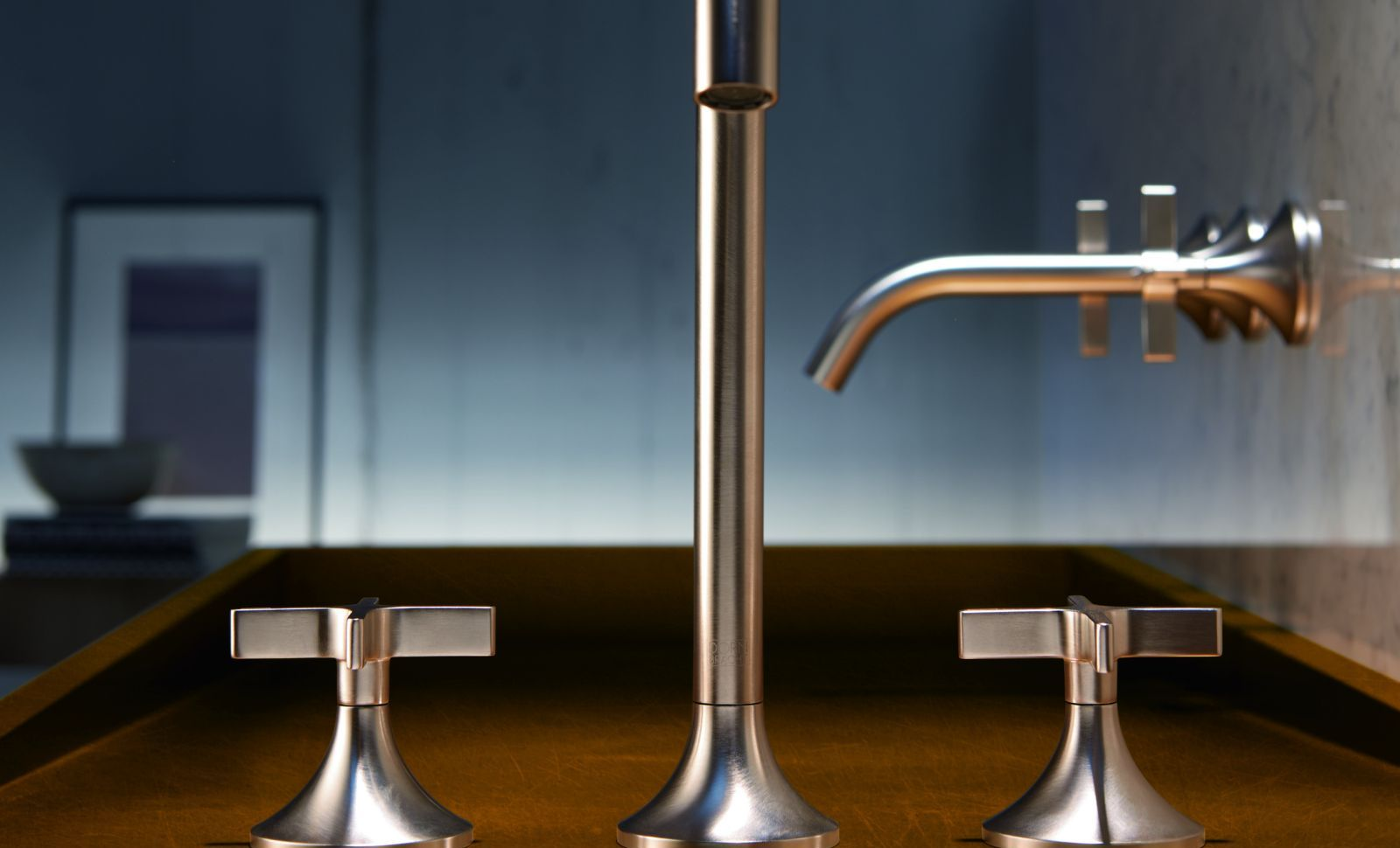Sanitärgriffe aus verchromtem Zinkdruckguss