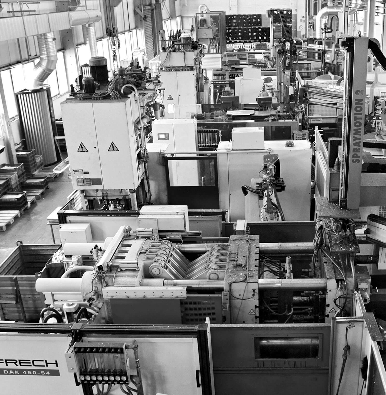 Produktionsstätte der HDO