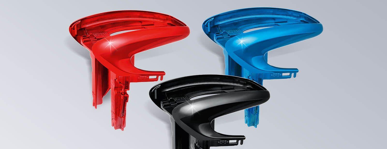 HDO Touchpadtraeger in Sonderfarbe (Coloured Chrome)