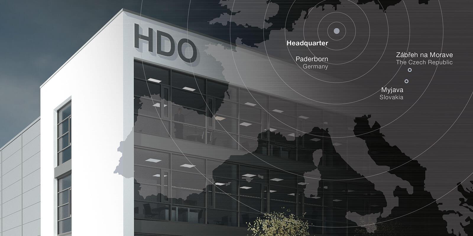Standorte der HDO Gruppe