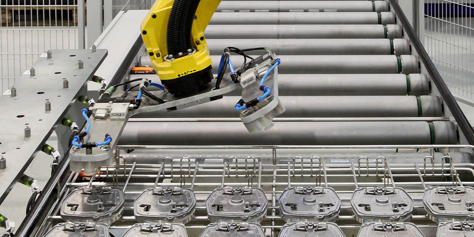 Roboter in der HDO Fertigung