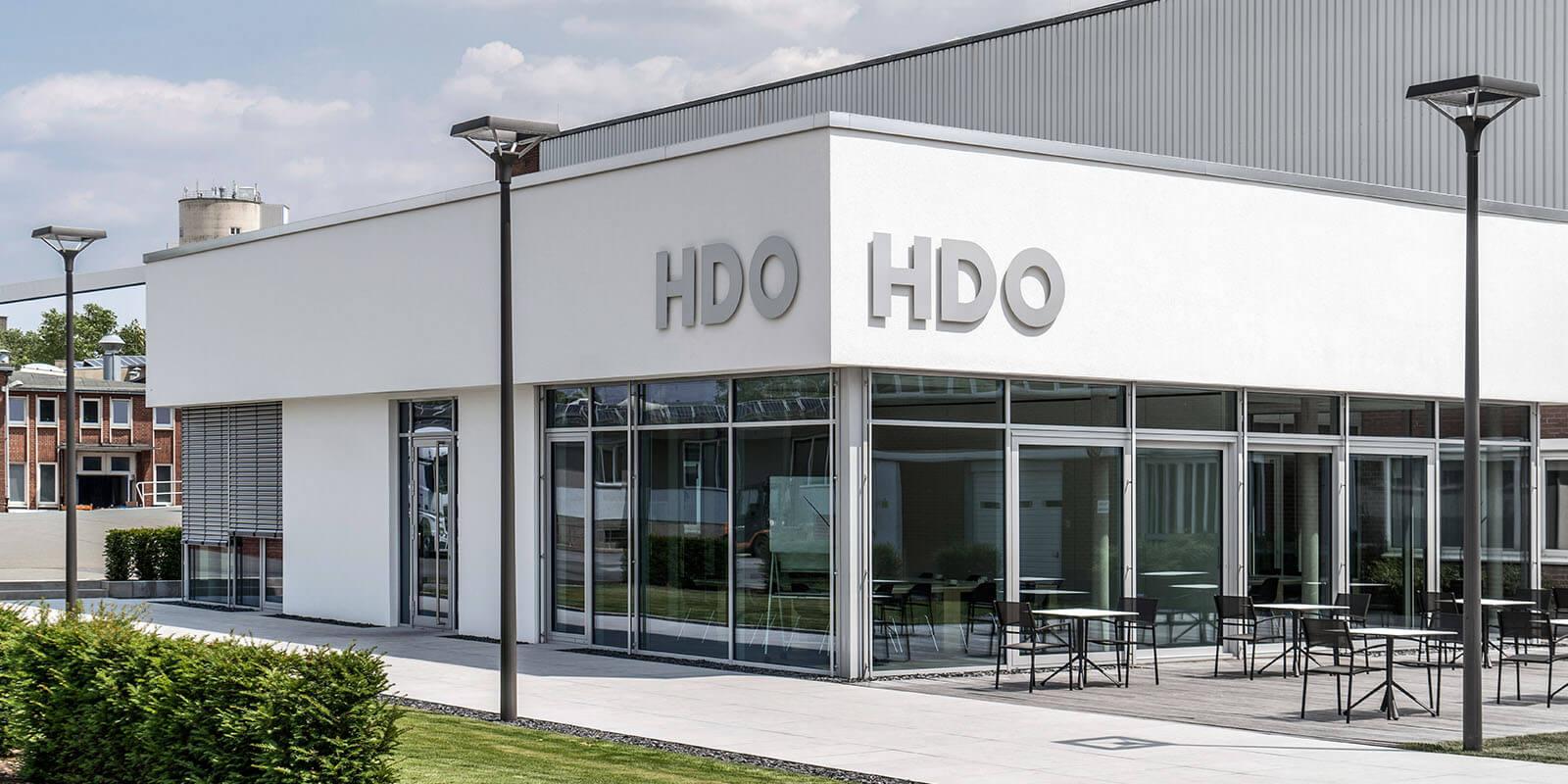 HDO Hauptsitz und Entwicklungszentrum in Paderborn