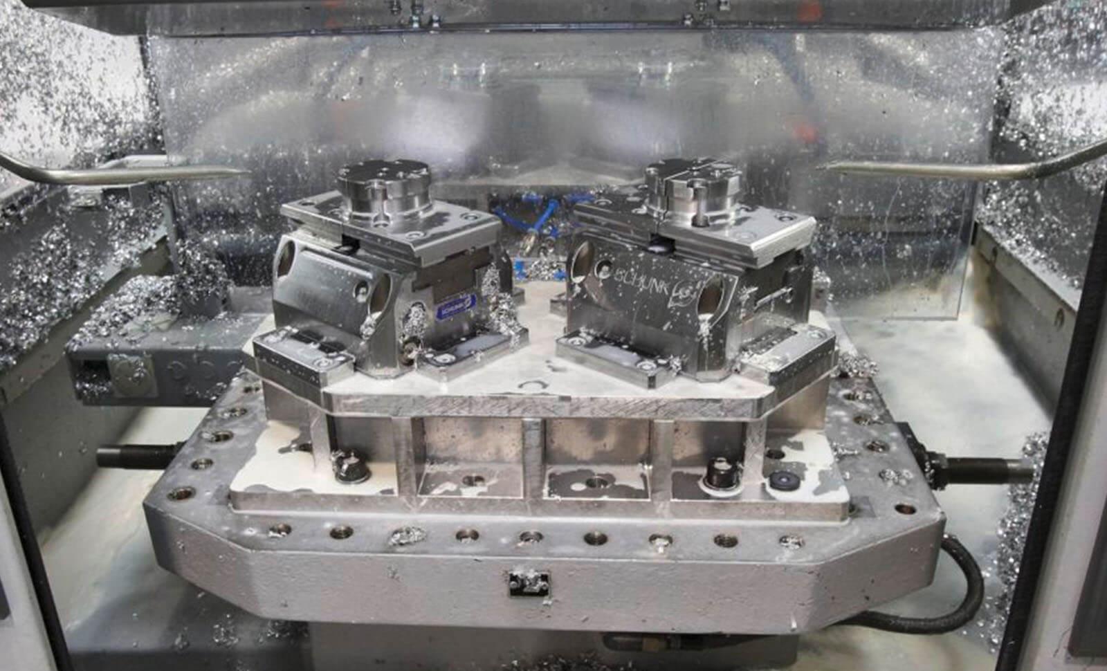 Mechanische Bearbeitung von Metall