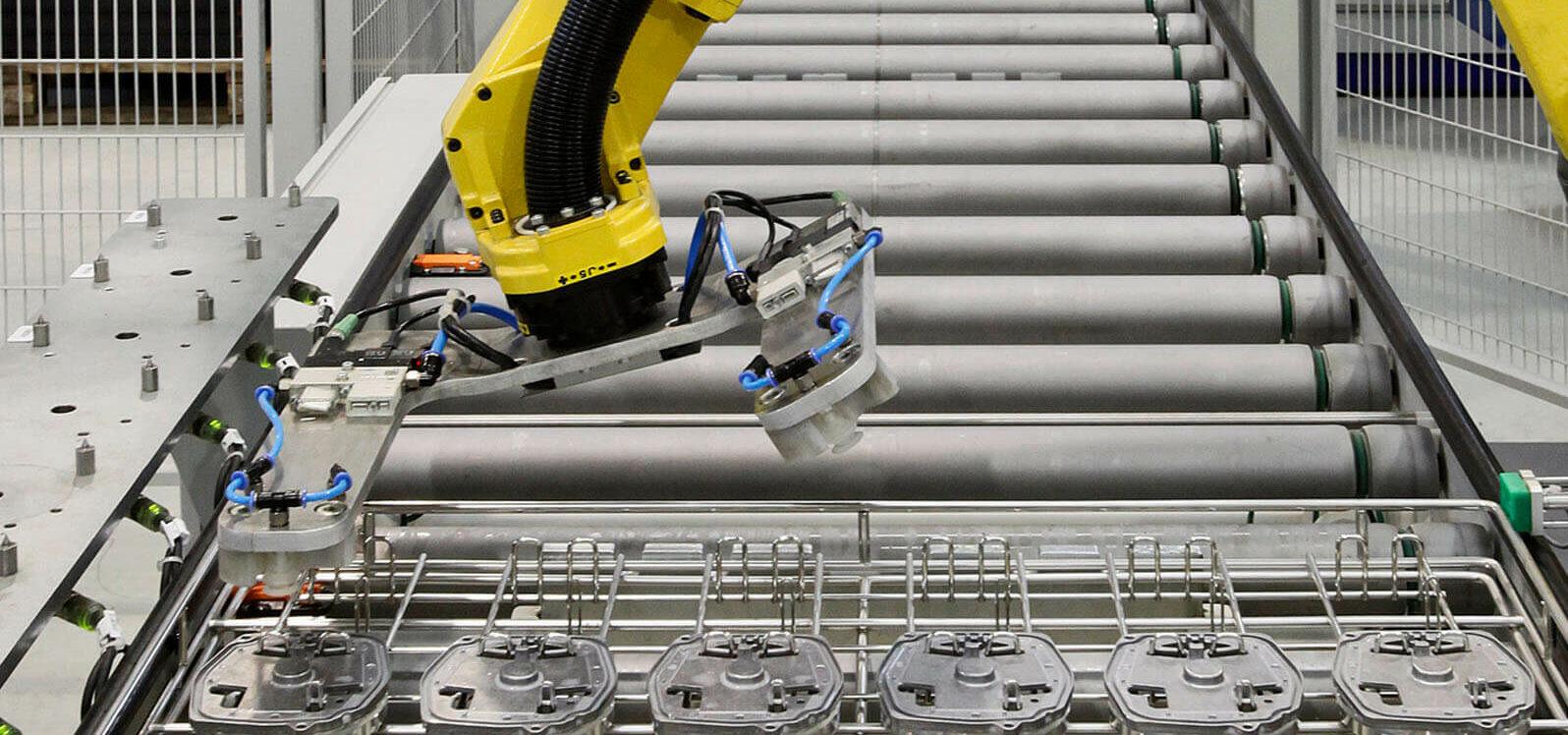 Automatisierung in der HDO Fertigung