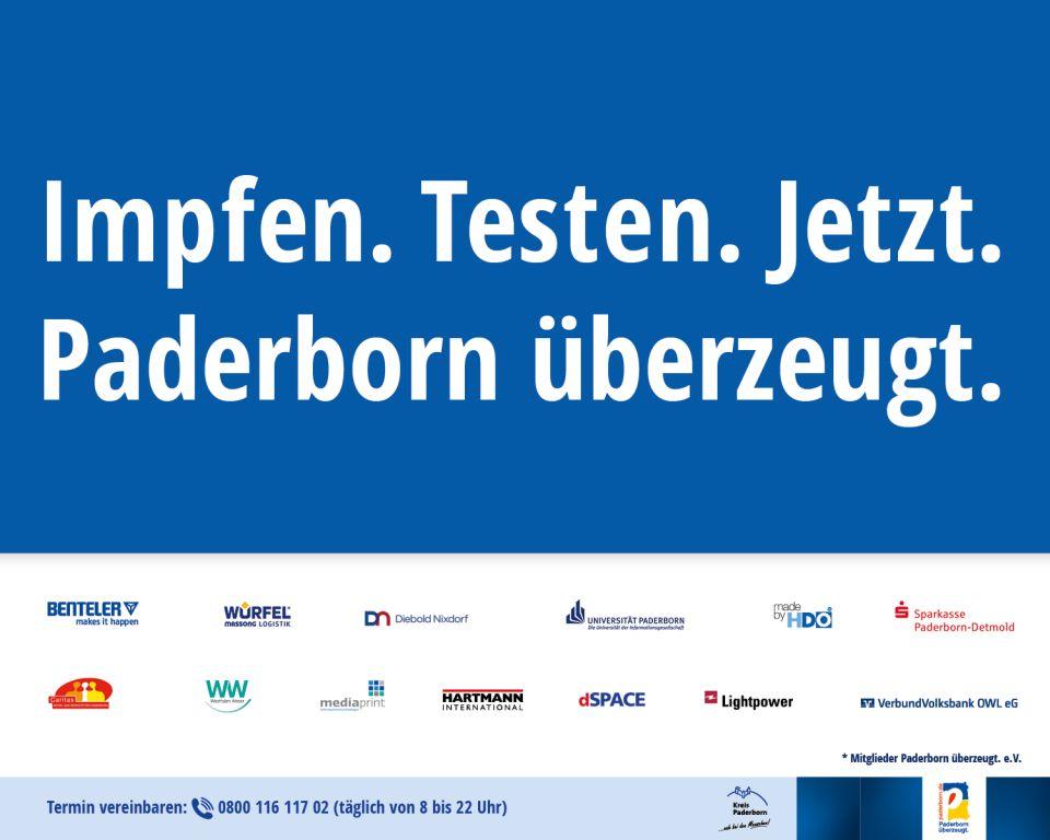 HDO unterstützt Impfkampagne gegen das Coronavirus von Paderborn überzeugt
